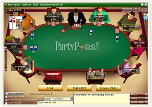party poker table - pokerhistory.eu
